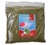 Корм в гранулах для аквариумных рыбок с растительными добавками Флора 2 (2,5-3мм) 1кг