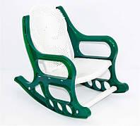 """Кресло-качалка /детская/ - цвет зеленый """"K-PLAST"""""""