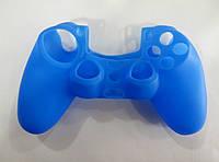 Силиконовый чехол для джойстика PS4 однотон
