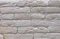Декоративная гипсовая плитка, кирпич Старая Прага, белый кирпич (Stara Praha), искусственный камень