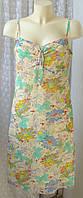 Платье женское летнее сарафан миди Cecilia р.46 6276