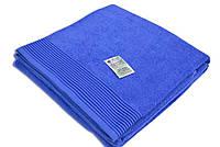 """Простынь (150х200 см) махровая полуторная, """"Terry Lux 400"""",  синяя"""