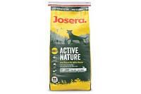 JOSERA ACTIVE NATURE Полноценный корм для активных собак с сдержанием мяса птицы и ягненка