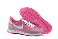 Женские кроссовки Nike Internationalist, найк интернационалист розовые