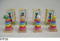 Деревянная игрушка пирамидка BT-WT-0185