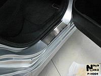 Накладки на пороги Premium Honda Civic VIII 4D 2006-2011-