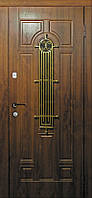 Двери входные со стеклом Лучия серия ЭЛИТ Каскад