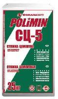 Polimin СЦ-5 стяжка цементная 10-80мм, 25кг
