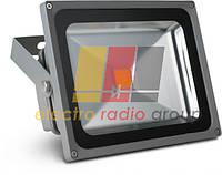 Прожектор светодиодный  прямоугольный белое свечение  50W  ~220V PR-50-220-W