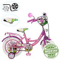 Детский велосипед 12 дюймов LT 0050-02 W Лунтик