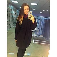 Пальто (полупальто), цвет черный