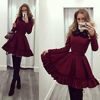 """Платье короткое с пышной юбкой """"Феодора"""""""