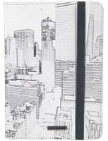 """Оригинальный чехол с рисунком для планшета 10"""" Golla Vincent Stand Tablet (White) G1558"""