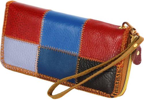 Компактный бумажник из натуральной кожи Traum 7201-22