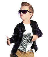 """Футболка для мальчика с карманом """"BiBi Tiger""""; 3, 4, 5, 6-7, 8-9, 10-11, 12-13 лет"""