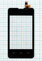 Тачскрин сенсорное стекло Prestigio MultiPhone 3350 Duo Black