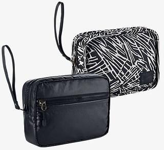 Интересная двухсторонняя сумка NIKE STUDIO KIT 2.0 S BA5122-010 черный