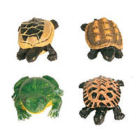 Декорация Trixie «Набор из 12 лягушек и черепах», 12 шт