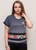 Модная футболка короткий рукав (реглан)