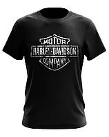 Черная футболка HARLEY-DAVIDSON MOTOR