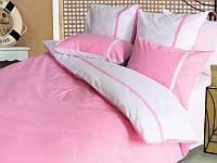 Постельный комплект белья ТЕП Дуэт розовый двуспальное