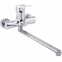 Q-tap INTEGRA EURO Смеситель для ванны с переключением на душ через встроенный переключатель