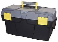 Ящик инструментальный 39,8 x 25,5 x 21,2см Mega Cantilever с выдвижными полками и кассетницами