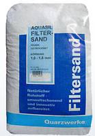 Кварцевый песок Filtersand 0,4–0,8 мм (25 кг)