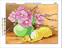 """""""Цветы и лимон"""". Канва для вышивки. Картины художников. Схема для вышивки"""