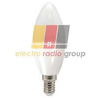 LB-97 C37 230V 5W  420Lm  E14 4000K Светодиодная лампа