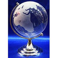 Глобус стеклянный декоративный диаметр 8 см