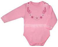 Боди для девочки «Бусики» (цвет розовый), рост 92 см