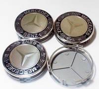 Заглушки колпачки литых дисков Mercedes
