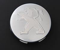 Заглушки колпачки литых дисков Peugeot новый тип