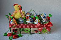 Подарок из Киндер яиц на Пасху