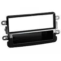 Рамка переходная 281250-13-1 Dacia Duster Faclift 10/2013-./Dokker,Lodgy 06/2012-> piano black
