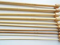 Спицы бамбуковые одинарные для вязания