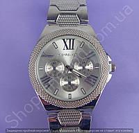 Часы Michael Kors MK 110904 F227 (113843) мужские серебристые на металлическом браслете из нержавеющей стали