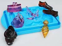 """Фирменная силиконовая форма Pebeo (Франция) """"Семья""""для созд. фигурок из пластич масс (обжиг до 230*С)"""