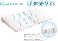 Подушка ортопедическая для младенцев Klin 60х36 BabyMatex в кроватку