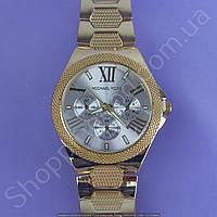 Часы Michael Kors MK 110904 F227 (113844) мужские золотистые на металлическом браслете из нержавеющей стали
