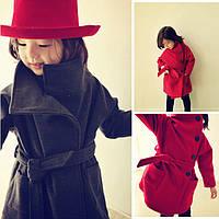 Детское демисезонное пальто для девочки - Глория