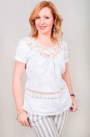 Красивая женская летняя блуза