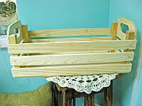 Заготовка для декупажа Ящик деревянный 40*20 см, 1 шт