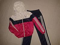 Детский спортивный костюм adidas из плащевки хорошего качества