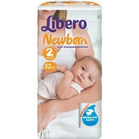 Libero Baby Soft 2 Мини 52 шт (3-6 кг)