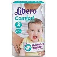 Libero Baby Soft 3 Midi 22 шт ( 4-9 кг)