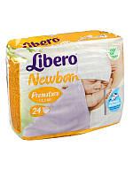 Libero Baby Soft Premature 24 шт до 2 кг