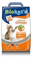 Наполнитель BioKat's (Биокетс) Orange С ароматом цитрусовых 5 кг