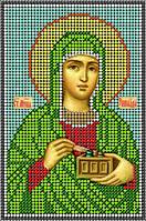 Схема для вышивания бисером икона Св. Мч. Зинаида КМИ 5122